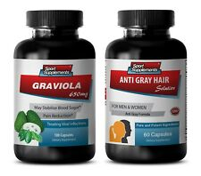 rejuvenation advanced - GRAVIOLA – ANTI-GRAY HAIR COMBO 2B - zinc and copper sup