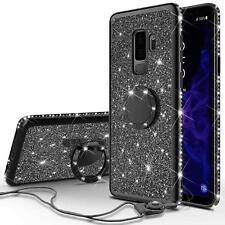 Luxury Diamond Bling Kickstand Case Cover For Samsung Galaxy Note 9 S9 Plus S8