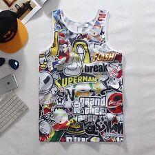 Cartoon Vest  [fresh dope 90s retro gamer funny graffiti hipster basketball]