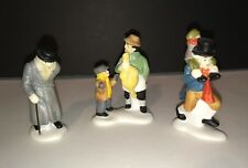 "Dept 56 Heritage Village Collection ""Christmas Carol Characters"" 6501-3 Set of 3"