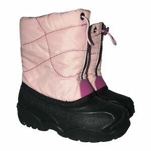 Kamik Light Pink Snow Boots Toddler 10