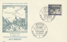 GERMANY 26 APRIL 1963 OLD BERLIN UNADDRESSED FIRST DAY COVER CDS