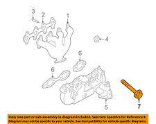 GM OEM Exhaust Manifold-Exhaust Manifold Bolt 12552096