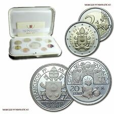 MORUZZI - Vatican Pope Francis I OFFICIAL PROOF Set 2017 + 20 Euro Silver PROOF