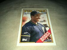 Barry Bonds Pittsburgh Pirates 1988 Topps Tiffany Card #450