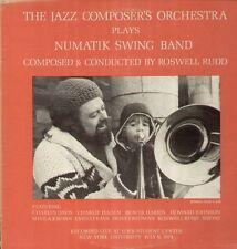 Rudd Roswell Jazz Composers Orchestra, Numatik Swing Band w.Haden, Rava JCOA LP