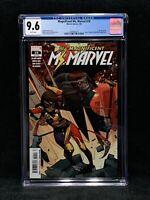Magnificent Ms Marvel 10/ 1st Cameo App Stormranger/ Wandavision/ CGC 9.6/ Comic