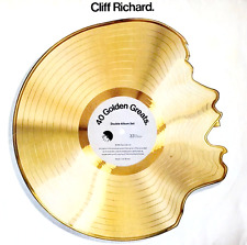 CLIFF RICHARD - 40 Golden Greats (LP) (VG-/G++)
