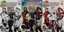 MARVEL AMAZING SPIDER-MAN #18 J. Scott Campbell DECOMIXADO Variant