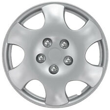 "QTY 1 Piece A/M Silver ABS Fits 2003 2004 TOYOTA COROLLA 15"" Wheel Cover Hub Cap"