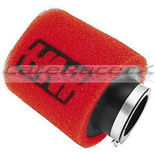 "Uni Air Filter Clamp On Pod 1-3/4 45mm ID x 4"" Long Dual Stage Angled UP-4182AST"
