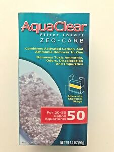 AquaClear 50 (200) Filter Zeo-Carb A-614 A614