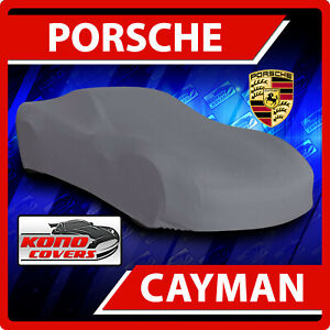 [PORSCHE CAYMAN] CAR COVER - Ultimate Full Custom-Fit All Weather Protection