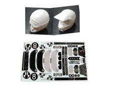 2pcs Kit Axial Y-480 Helmet Set Yeti XL Crawler 1/10 RC AX90032/AX90038 White