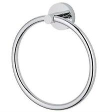 Stainless Steel Towel Ring, Wall Mounted Round Towel Holder for Kitchen Bathroom