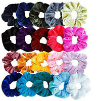 20PC Women Girls Scrunchy Hair Ties Scrunchie Scrunchies Accessories Velvet Cute