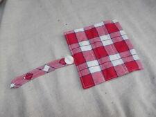 Picnic Plaid Handle Gripper Longaberger Red