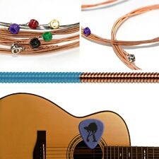 6 X 010-047'' Acoustic Folk Guitar Strings Steel Core Copper Wire Wound Tension