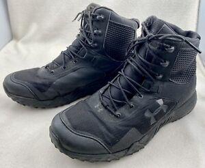 Under Armour Valsetz Clutch Fit Tactical Boots Size 11  Black