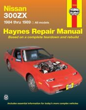 Repair Manual Haynes 72010 fits 84-89 Nissan 300ZX