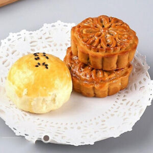 Lace Paper Durable Cake Box Decor Round Openwork Disposable Placemat Paper RE