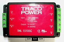TRACO POWER TML 15105C 5V 3A 15W Encapsulated Chassis Mount SMPS