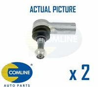2 x NEW COMLINE FRONT OUTER TRACK ROD END RACK END PAIR OE QUALITY CTR3171