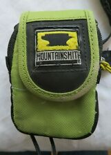 Mountainsmith small green camera case that attaches to backpack, Cyber USX model