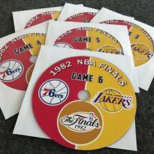 1982 NBA Finals Los Angeles Lakers vs. Philadelphia 76ers DVD