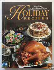 AMERICA'S FAVORITE BRAND NAME HOLIDAY RECIPES Lipton Hershey's Dole Kraft Jell-o