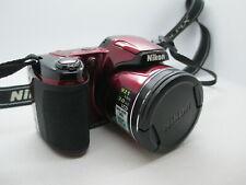 Nikon COOLPIX L810 16.1MP Digital Camera - Black COMPLETE TESTED & WORKING