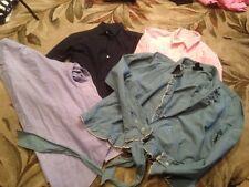 Choice 1 RALPH LAUREN Womens Size S,M,10, 12 denim blue pink button up shirt