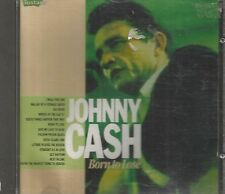 RARE JOHNNY CASH CD BORN TO LOSE 1989 INSTANT UK 14 TRACKS