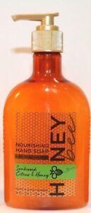 Bath & Body Works Sunkissed Citrus & Honey Nourishing Hand Soap w Honey Butter