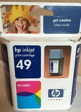 HP 49 HP51649A TRI-COLOR Genuine Ink Cartridge HP49 TRI COLOR Expired