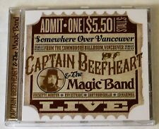 Captain Beefheart & The Magic Band ‎– Somewhere Over Vancouver (Live) 1973 CD