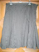 SUPERBE JUPE NEUVE ANNE WEYBURN authentique noire T 54 tissu froissé/ doublée