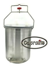 Capralite Milking Machine 3 Gallon Stainless Steel Pail With Lid Single Milker