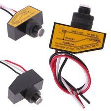 DC12V 24V 36V 48V Mini Dämmerung Fotozelle Twilight Auto Lichtsensor Schalter