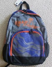 New Girls Backpack Bookbag Roxy beach palm tree Orange purple gray