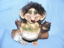 Ny Form Nyform Troll Reading Norway Collectable Norwegian Small Limited Edition
