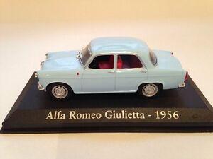 Alfa Romeo Giuletta Bleu Clair 1956 1:43 Echelle Altalya FA15 Neuf