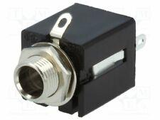 KLBP-3 Socket - Jack 6 -3mm - female - stereo - ways:3 - straight - soldering