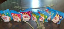 Lot Of 7 Mcdonalds Furby Toys In Package