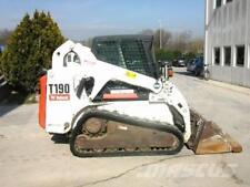 Bobcat T190 GOMMA TRACK Skid Steer MANUALE OFFICINA inviato come un download