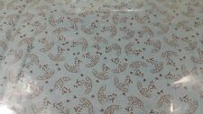 Moda New Fabric Make Life by Sweetwater Light Teal Brown Accent 5426-19 BTY Yard