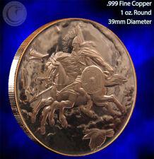 """""""Steipnir"""" Part of Nordic Creatures 1 oz .999 Copper Round Beautiful Design"""