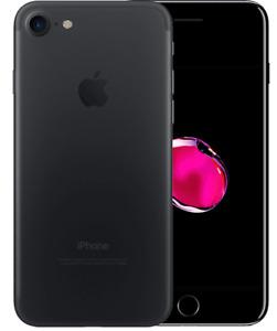 APPLE IPHONE 7 32 GB Black Nero Opaco Grado A+ Usato Ricondizionato Rigenerato