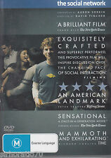THE SOCIAL NETWORK Jesse Eisenberg DVD R4 New / Sealed - Justin Timberlake
