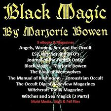 Marjorie Bowen - Witches, Black Magic & The Occult (Multi Media)